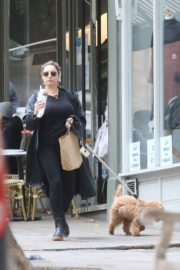 Kelly Brook Out with Her Dog in Hampstead 2020/10/22 3