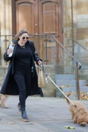 Kelly Brook Out with Her Dog in Hampstead 2020/10/22 4