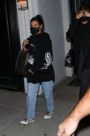 Kylie Jenner and Anastasia Karanikolaou Leaves a Voting Popup in West Hollywood 2020/10/26 2