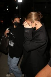 Kylie Jenner and Anastasia Karanikolaou Leaves a Voting Popup in West Hollywood 2020/10/26 13