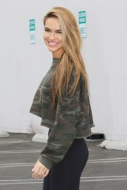 Leaves DWTS Rehersal in Los Angeles 10/24 1