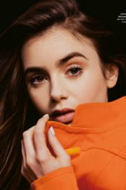 Lily Collins Photoshoot for Grazia Magazine Italy October 2020 Issue 2