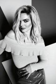 Louisa Johnson at a Black and White Photoshoot, October 2020 2