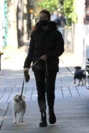 Madelaine Petsch Out with her Dog in Vancouver 2020/10/26 1