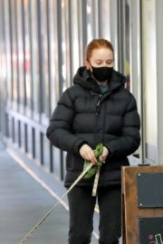 Madelaine Petsch Out with her Dog in Vancouver 2020/10/26 5