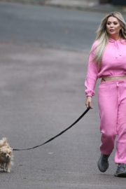 Nicola McLean Out with Her Dog in London 2020/10/23 5