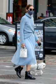 Olivia Palermo Out with Her Dog in New York 2020/10/24 5