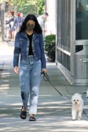 Out with Her Dog in Vancouver 2020/10/02 1