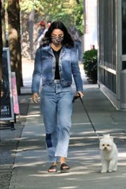 Out with Her Dog in Vancouver 2020/10/02 3