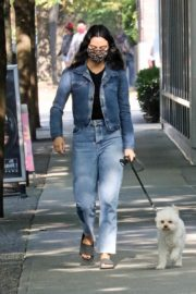 Out with Her Dog in Vancouver 2020/10/02 4