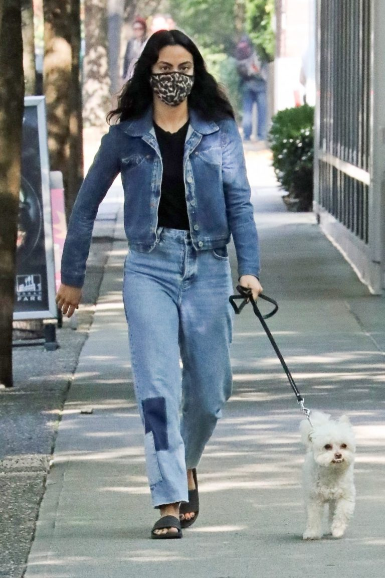 Out with Her Dog in Vancouver 2020/10/02 8