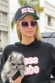 Paris Hilton and Carter Milliken Reum at LAX Airport in Los Angeles 2020/10/22 7