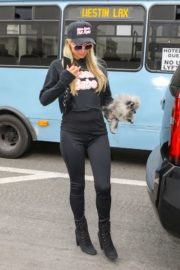 Paris Hilton and Carter Milliken Reum at LAX Airport in Los Angeles 2020/10/22 8