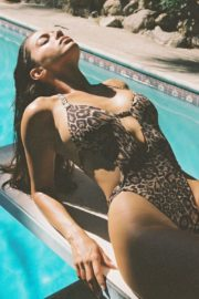 Priscilla Huggins Ortiz Animal Printed Swimsuit Photoshoot 2020/10/24 7