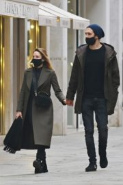 Rebecca Ferguson Out with Her Boyfriend in Venice 2020/10/22 2
