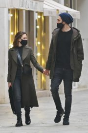 Rebecca Ferguson Out with Her Boyfriend in Venice 2020/10/22 5
