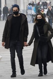 Rebecca Ferguson Out with Her Boyfriend in Venice 2020/10/22 9
