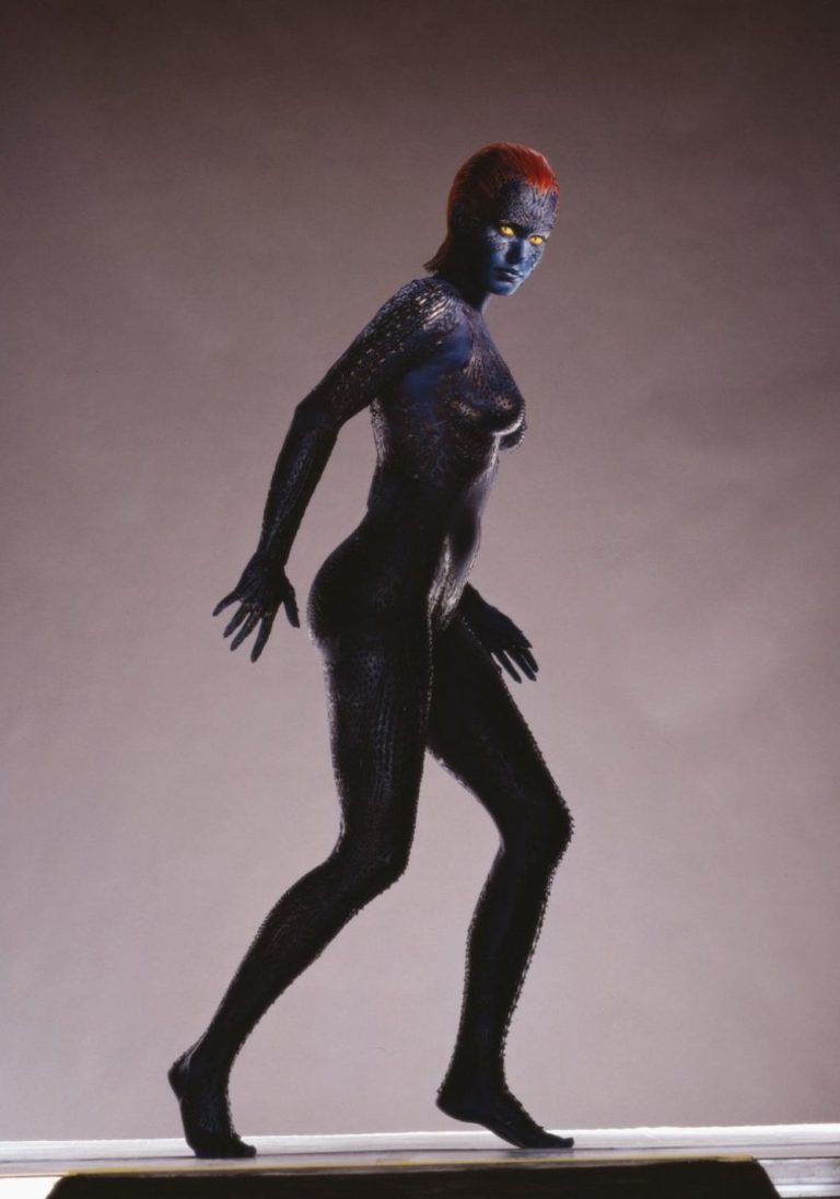 Rebecca Romijn as Mystique From X-Men in 2020 Photoshoot 2