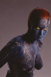Rebecca Romijn as Mystique From X-Men in 2020 Photoshoot 5
