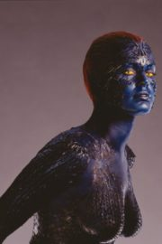 Rebecca Romijn as Mystique From X-Men in 2020 Photoshoot 6