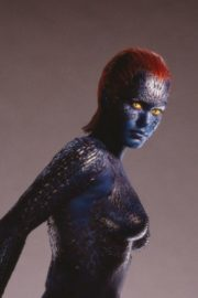 Rebecca Romijn as Mystique From X-Men in 2020 Photoshoot 7