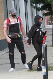 Skai Jackson and Alan Bersten Leaves Dance Rehearsal in Los Angeles 202/10/24 2