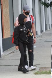 Skai Jackson and Alan Bersten Leaves Dance Rehearsal in Los Angeles 202/10/24 4