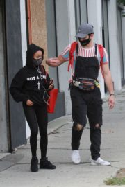 Skai Jackson and Alan Bersten Leaves Dance Rehearsal in Los Angeles 202/10/24 5