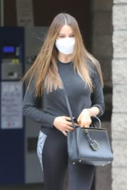 Sofia Vergara in Tights Out and About in Los Angeles 2020/10/22 7