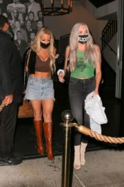 Tana Mongeau at Catch LA in West Hollywood 2020/10/25 2