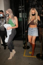 Tana Mongeau at Catch LA in West Hollywood 2020/10/25 4