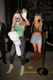 Tana Mongeau at Catch LA in West Hollywood 2020/10/25 7