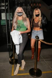 Tana Mongeau at Catch LA in West Hollywood 2020/10/25 8