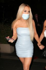 Tana Mongeau Leaves Boa Steakhouse in West Hollywood 2020/10/22 3