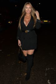 Tyne-Lexy Clarson Out for Dinner at Sexy Fish in London 2020/10/24 1