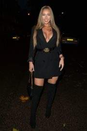Tyne-Lexy Clarson Out for Dinner at Sexy Fish in London 2020/10/24 6