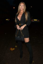 Tyne-Lexy Clarson Out for Dinner at Sexy Fish in London 2020/10/24 8