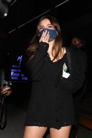 Addison Rae and Dixie D'Amelio at Boa Steakhouse in West Hollywood 2020/10/28 6