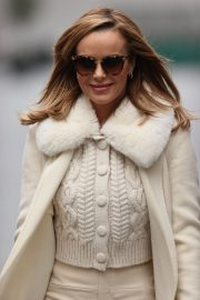 Amanda Holden in Winter Outfit Arrives at Heart Radio Show in London 2020/11/27 1