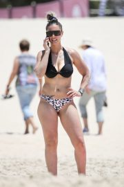 Amanda Micallef in Bikini at a Beach on Gold Coast 2020/11/14 2