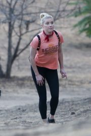 Amber Heard During Hiking Croix Top with Tight Out in Los Angeles 2020/11/16 5