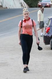 Amber Heard During Hiking Croix Top with Tight Out in Los Angeles 2020/11/16 6