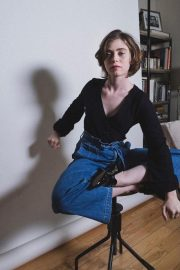 American actress Sophia Lillis at a Photoshoot, October 2020 Issue 5