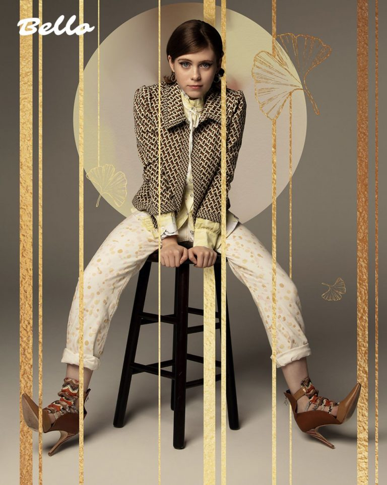 American actress Sophia Lillis Photoshoot for Bello Magazine, 2020 9