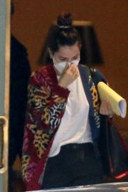 Ana de Armas and Ben Affleck Leaves Their Hotel in New Orleans 11/22/2020 2