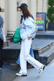 Arrives at Her Apartment in New York 2020/11/23 1