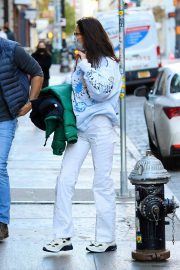 Arrives at Her Apartment in New York 2020/11/23 2