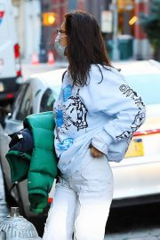Arrives at Her Apartment in New York 2020/11/23 3