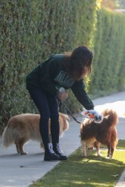 Aubrey Plaza Out with Her Dogs in Los Angeles 2020/11/21 9