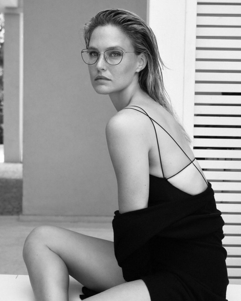 Bar Refaeli Photoshoot for Carolina Lemke Glasses October 2020 8
